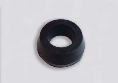Gevulkaniseerde vormstukken Conische rubberen buis - Tenax rubber