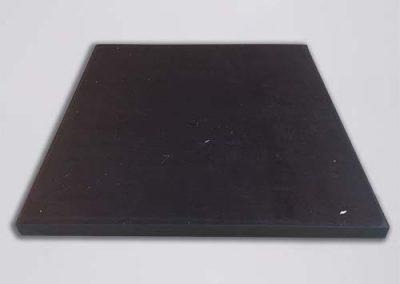 NR SBR 65 SH A 200 X 200 X 10 mm - rubber Tenax