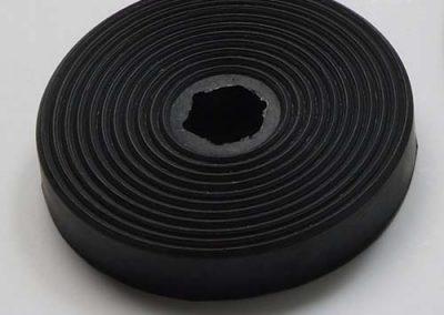 Vormstuk rubber - Tenax Rubber West-Vlaanderen