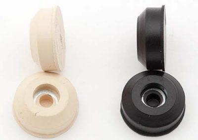 Vormstukken rubber - kleurmogelijkheden - Tenax