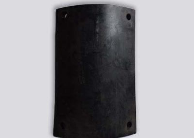 PLAAT MET GATEN - gevulkaniseerd rubber Tenax