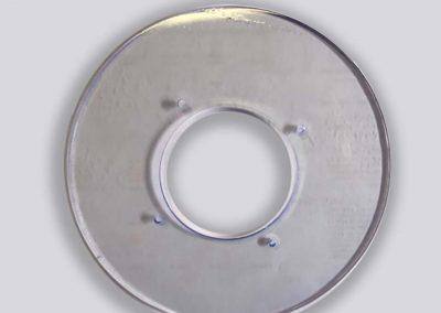Gestanste vormstukken - transparante PVC dichting