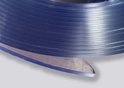 Plaatrubber - transparante PVC op rol